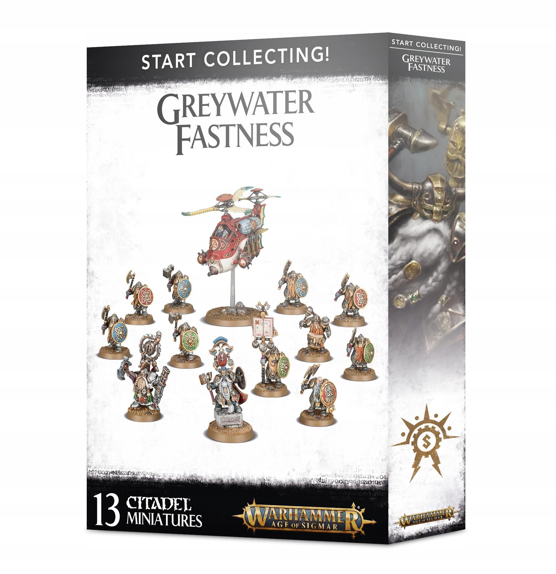 Vek Sigmaru Začnite zbierať Greywater Best