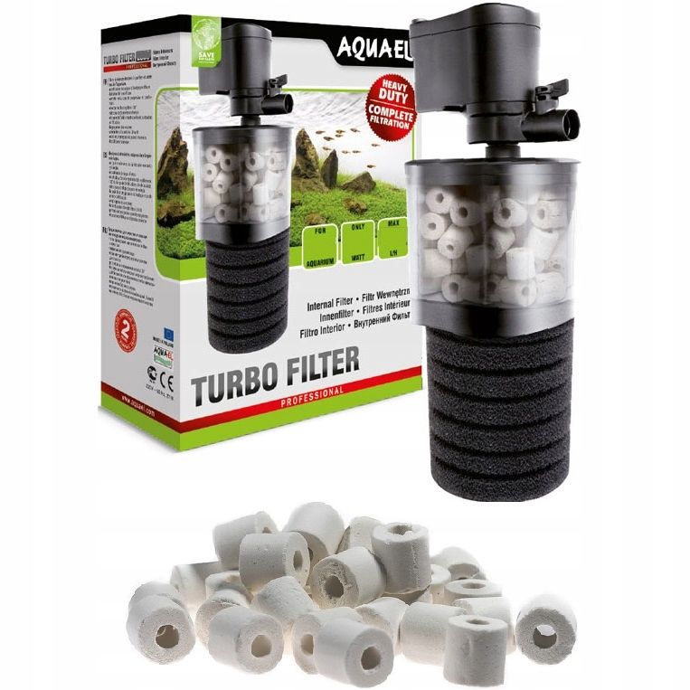 AQUAEL FILTR DO AKWARIUM TURBO 500 DO 150L +GRATIS
