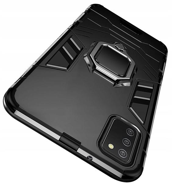 Etui do Samsung Galaxy A02S Pancerne Ring + Szkło