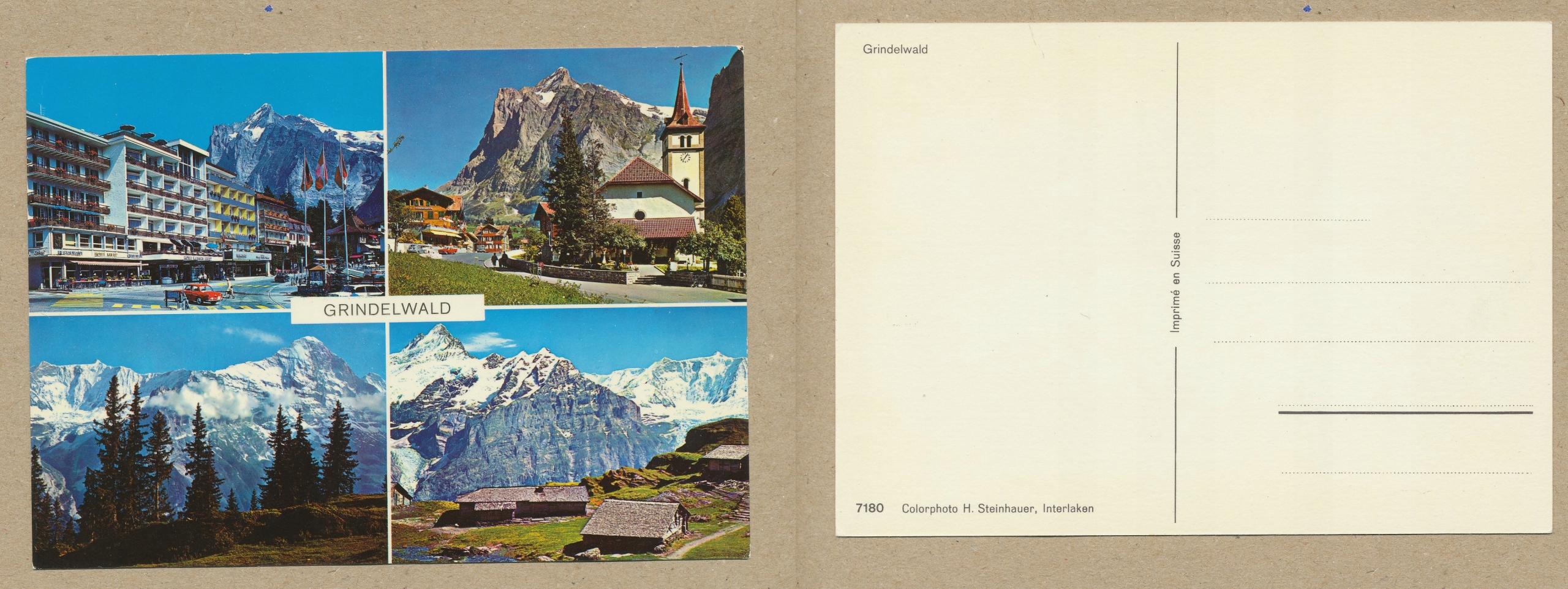 SZWAJCARIA - GRINDELWALD mix zdjęć Interlaken