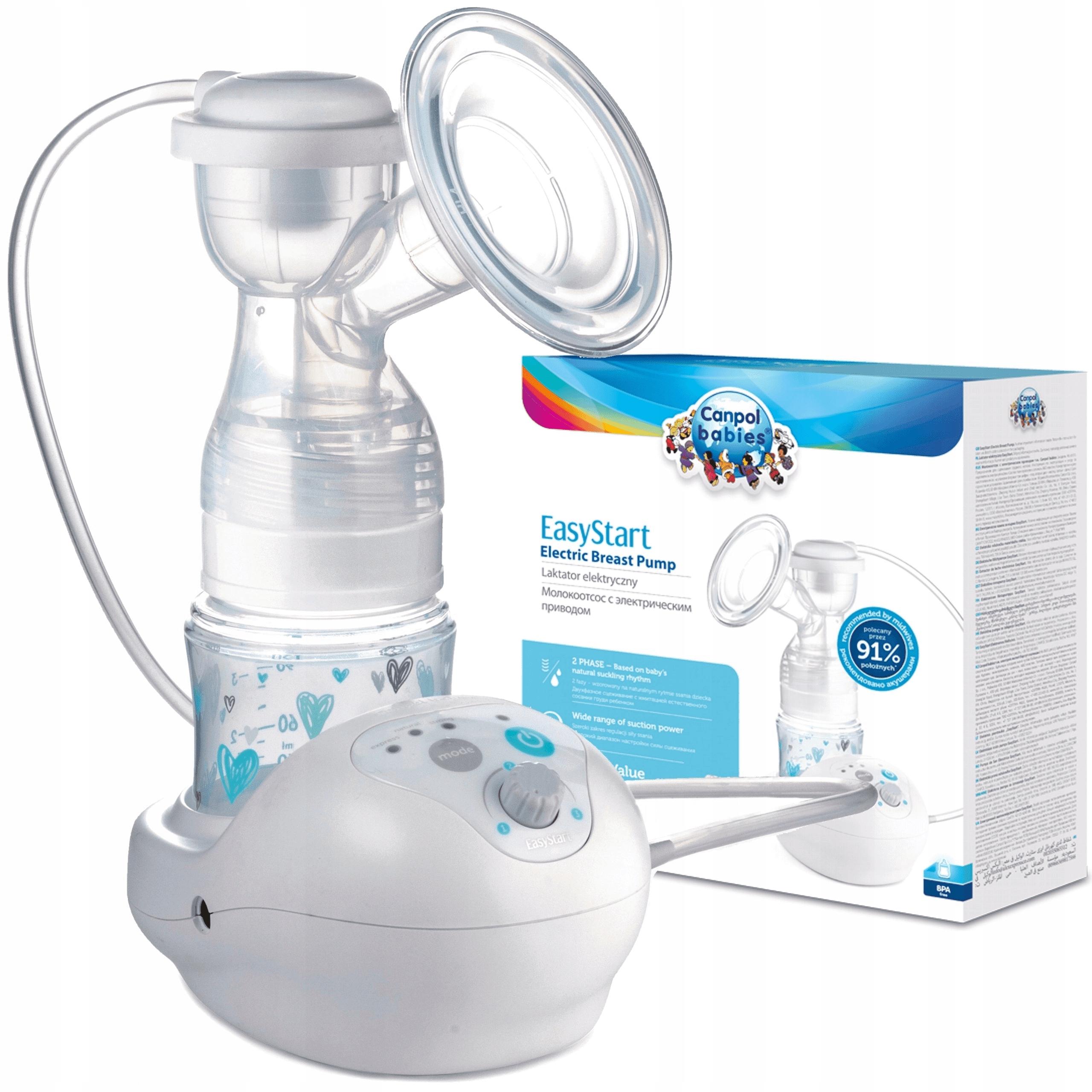 Elektrický lactor Canpol EasyStart 12/2011