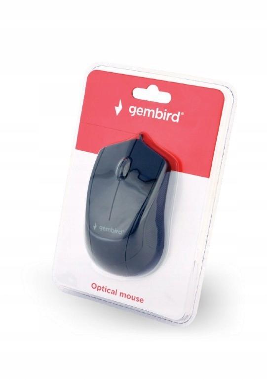 Купить GEMBIRD Мышь оптическая черная на Otpravka - цены и фото - доставка из Польши и стран Европы в Украину.