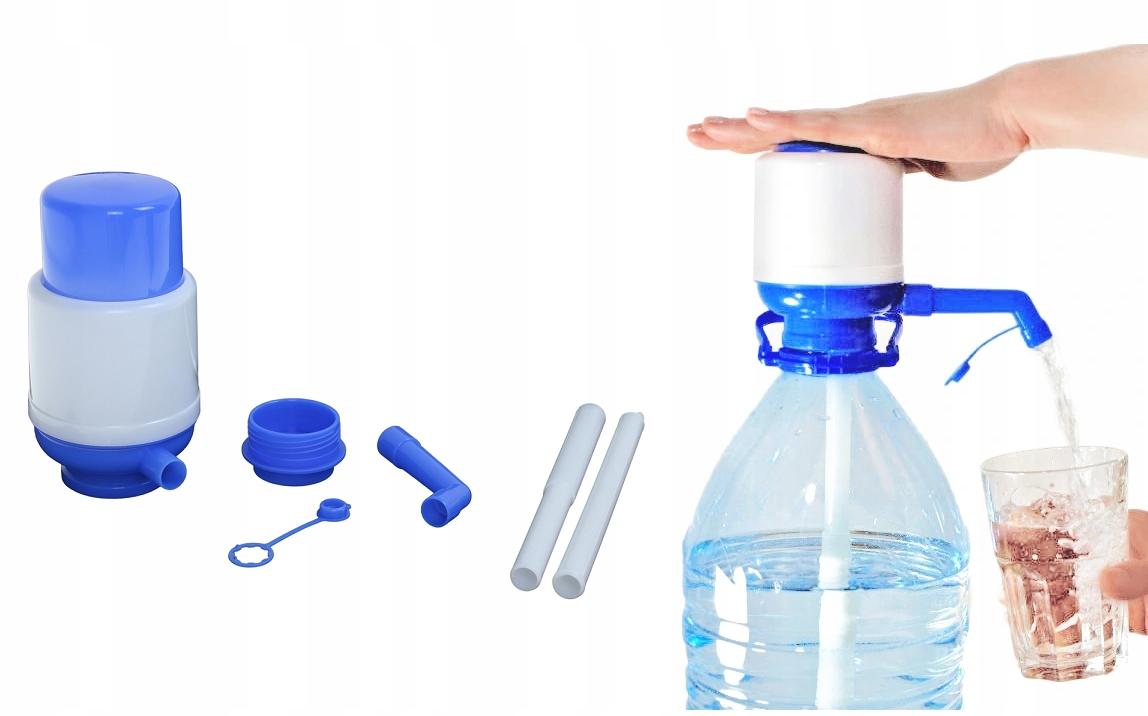 Диспенсер для бутылочек с редуктором 5 л с водяным насосом