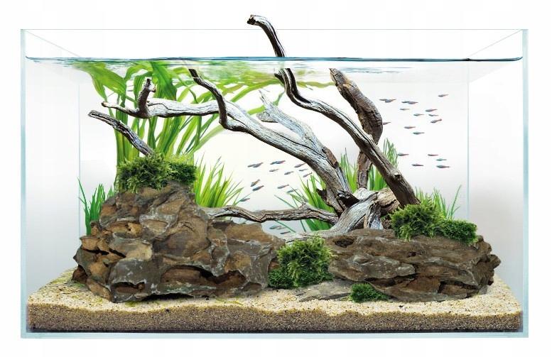 Akwarium Optiwhite 45x27x30 cm, szkło 5 mm