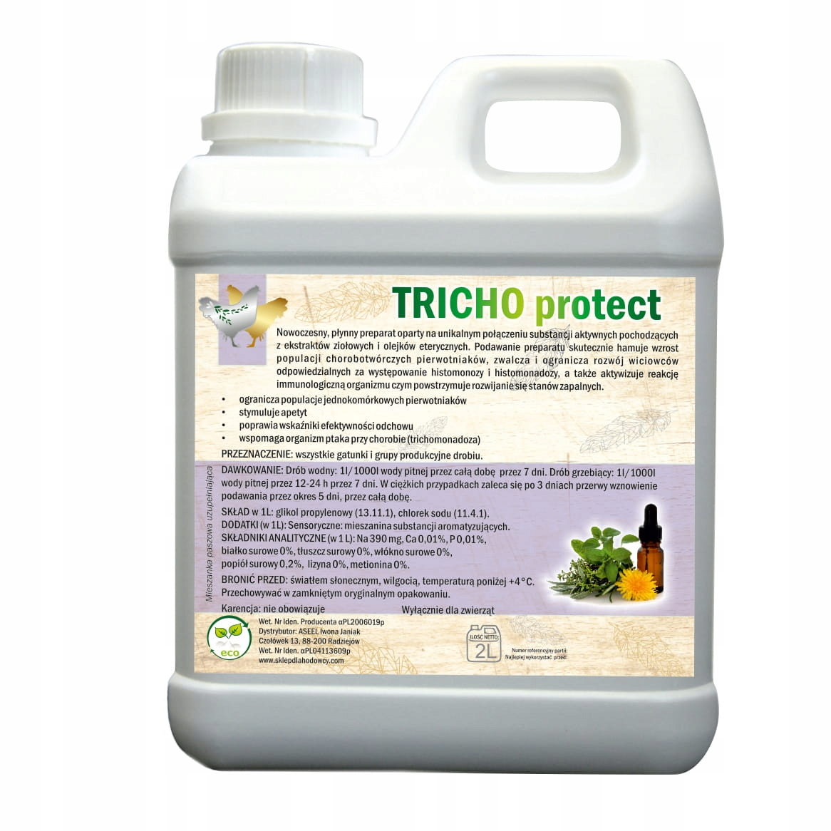 От простейших и воспалений TRICHO PROTECT 2L