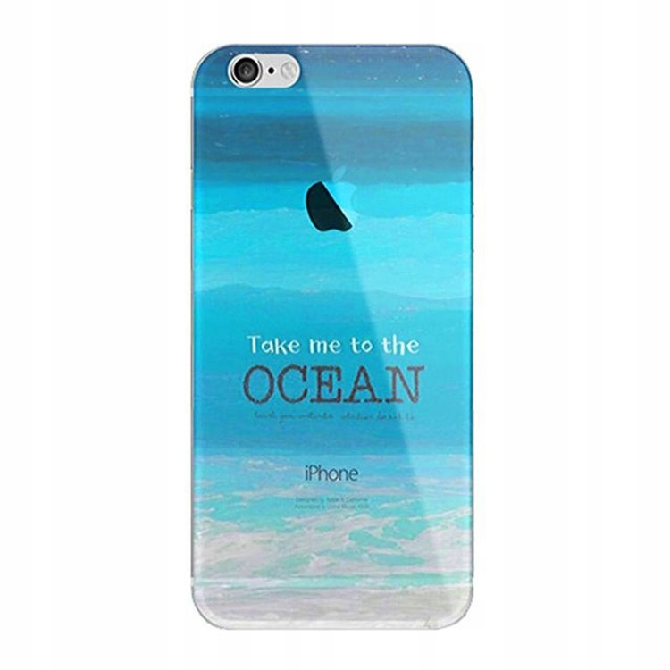 Etui Na Telefon Iphone 5/5S - Take Me To The Ocean