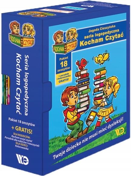 Kocham Czytac Pakiet 1 18 Zeszytow Gratis Nowy 125 99 Zl Allegro Pl Raty 0 Darmowa Dostawa Ze Smart Chorzow Stan Nowy Id Oferty 7260679863
