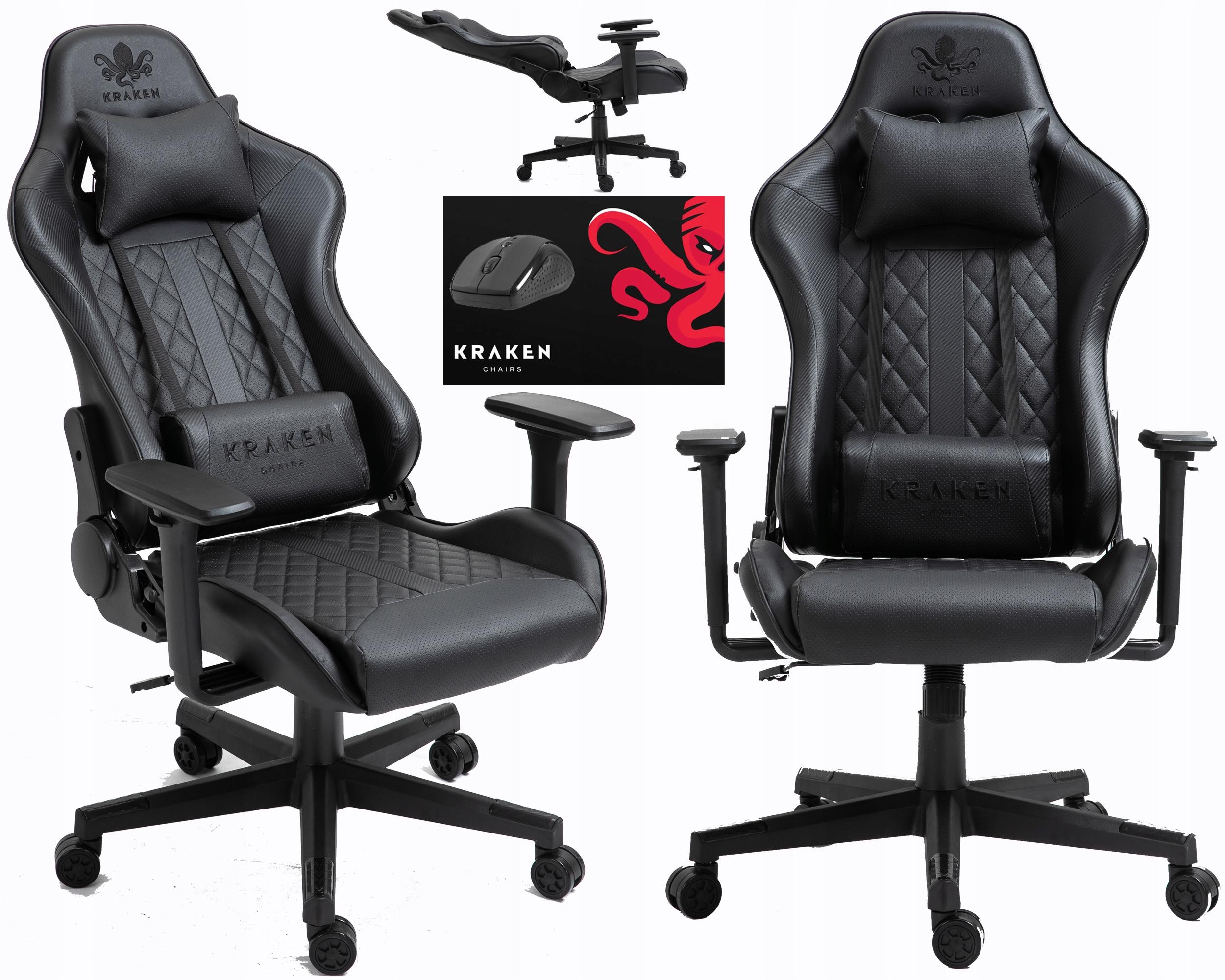Fotel Biurowy Gamingowy Obrotowy Krzeslo Gracza Sklep Komputerowy Allegro Pl