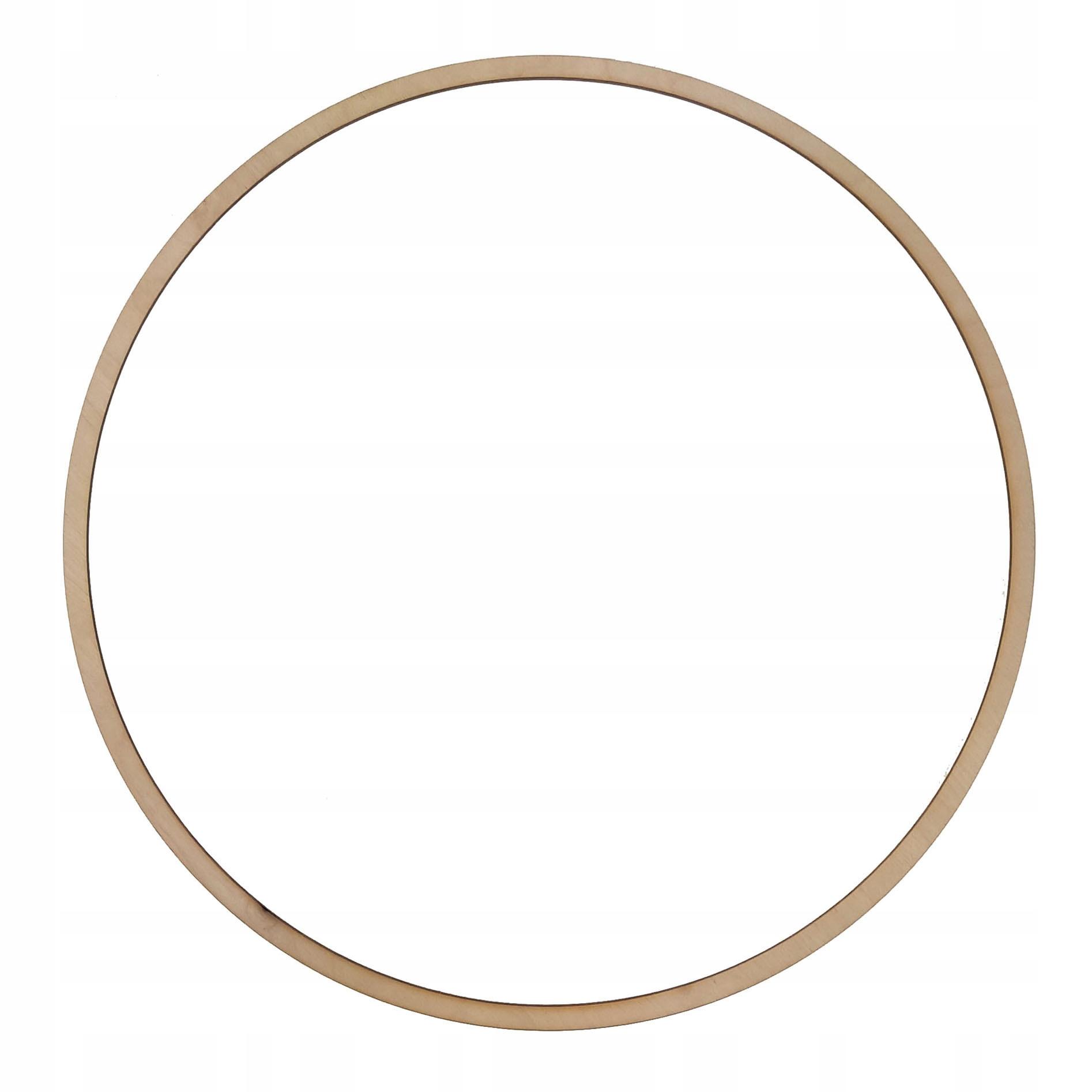 Drewniana obręcz kółko do łapacza snów - 44 cm