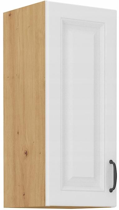 horná kuchynská skrinka 30 cm remeselník + biela RETRO