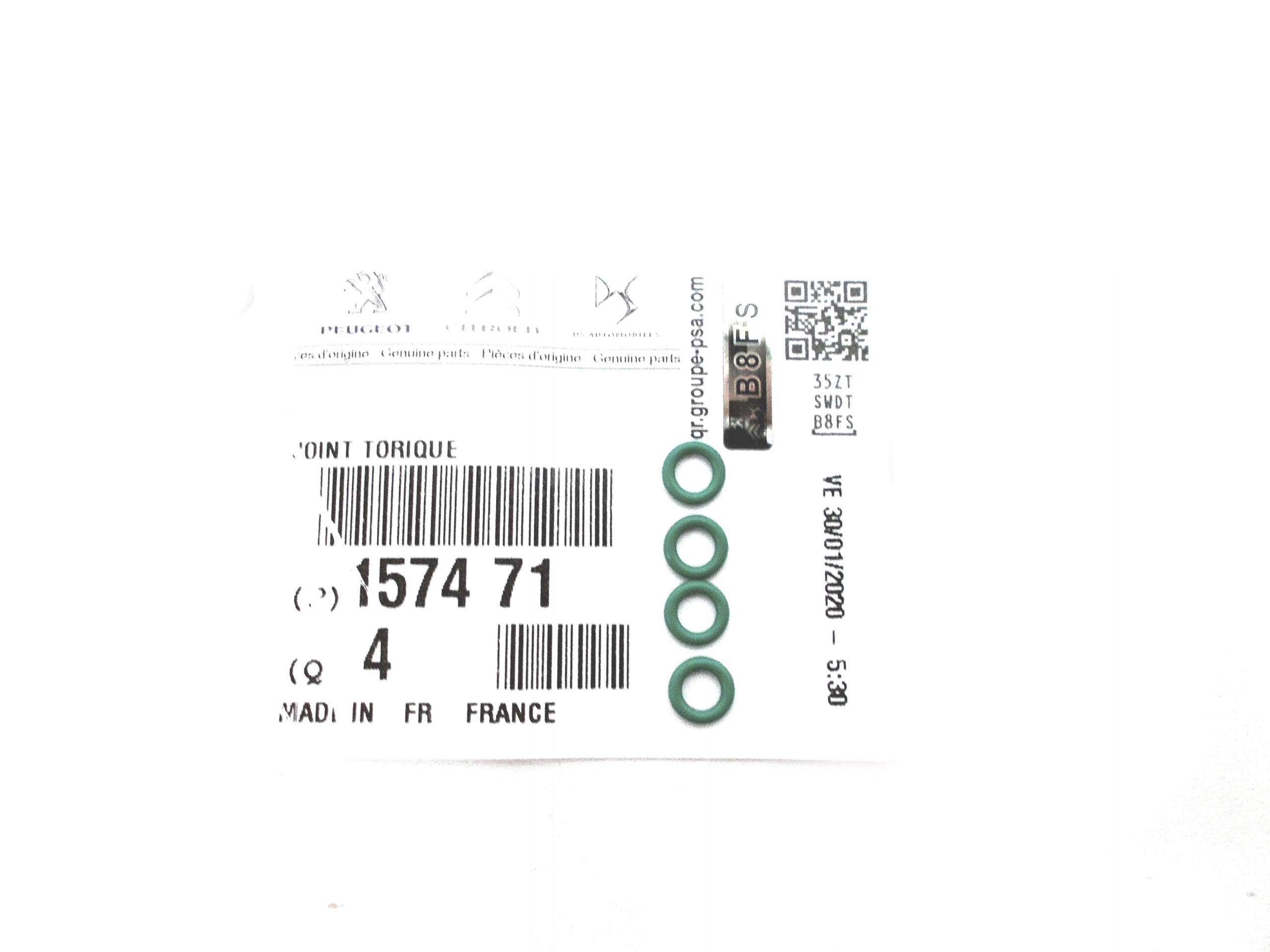 уплотнительное кольцо перевод инжектора citroen 14 16 20 hdi