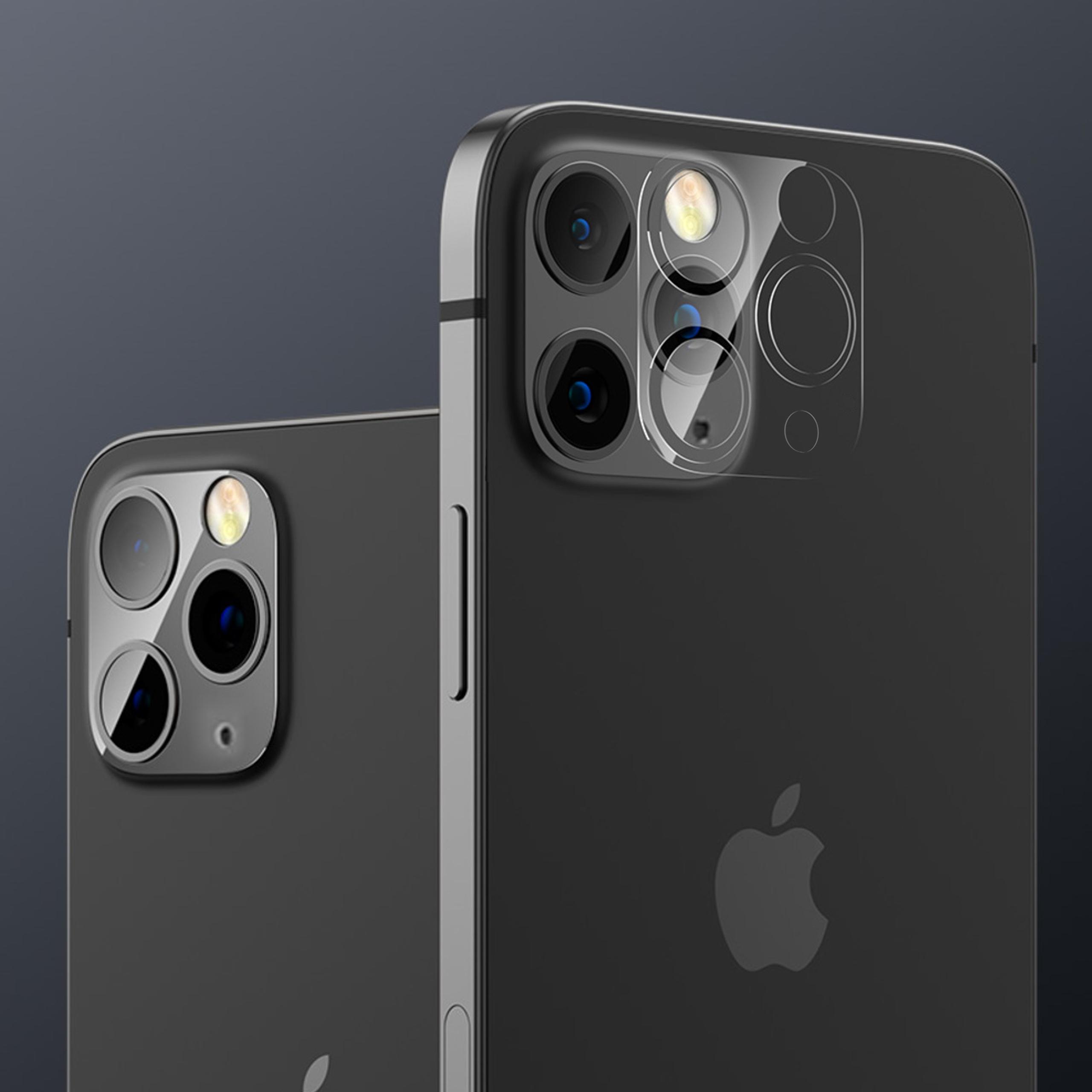 Hybridglass for kameraet til iPhone 12 Pro Max Dedikert modell av Apple iPhone 12 Pro Max