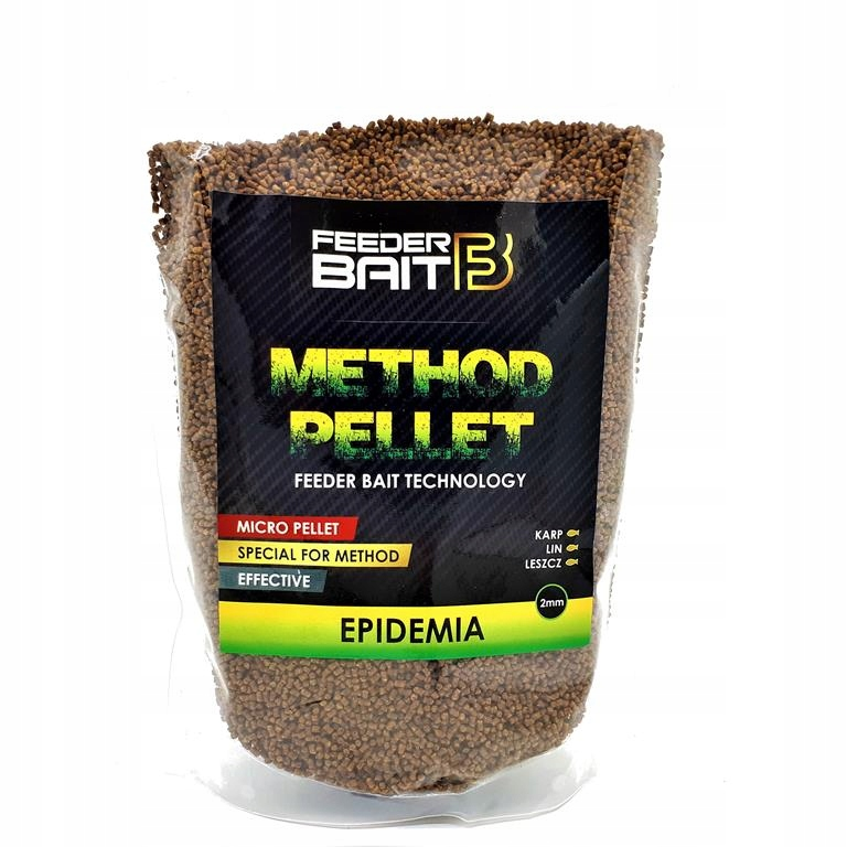 Epidemia 2mm Feeder Bait Method Pellet 800g