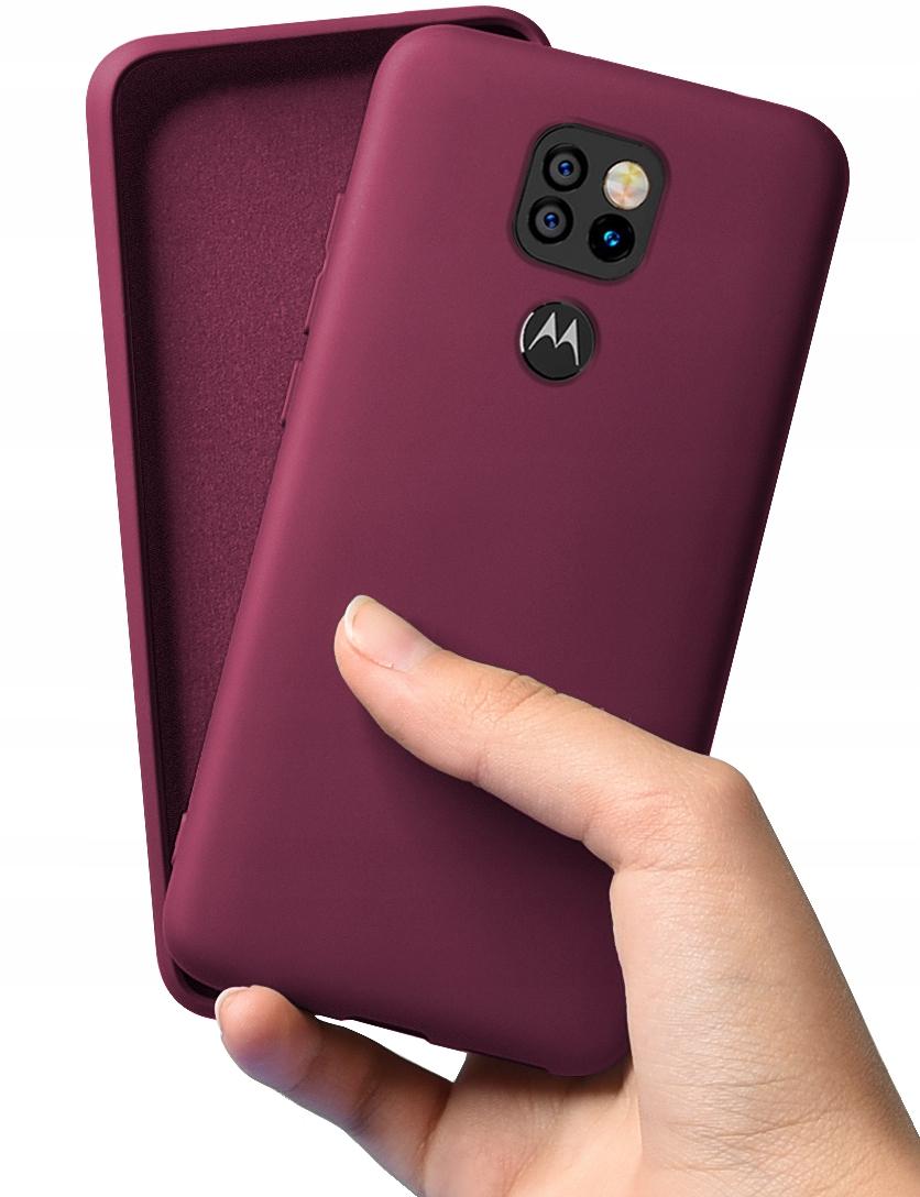 Etui do Motorola Moto G9 Play Case Silikon + Szkło Dedykowany model Motorola Moto G9 Play
