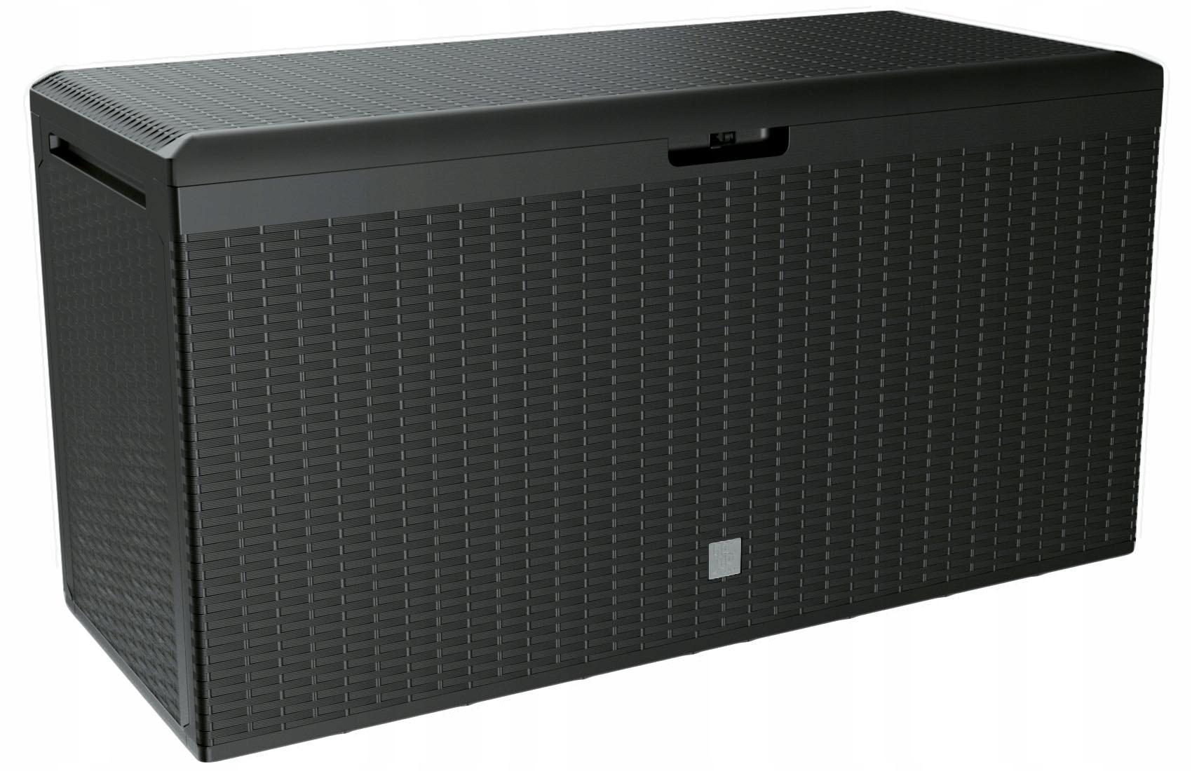 коробка для сада техноротанг Антрацит Сиденье