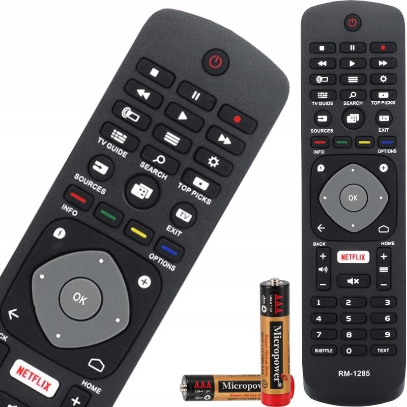 PILOT DO TV PHILIPS NETFLIX - WSZYSTKIE MODELE TV