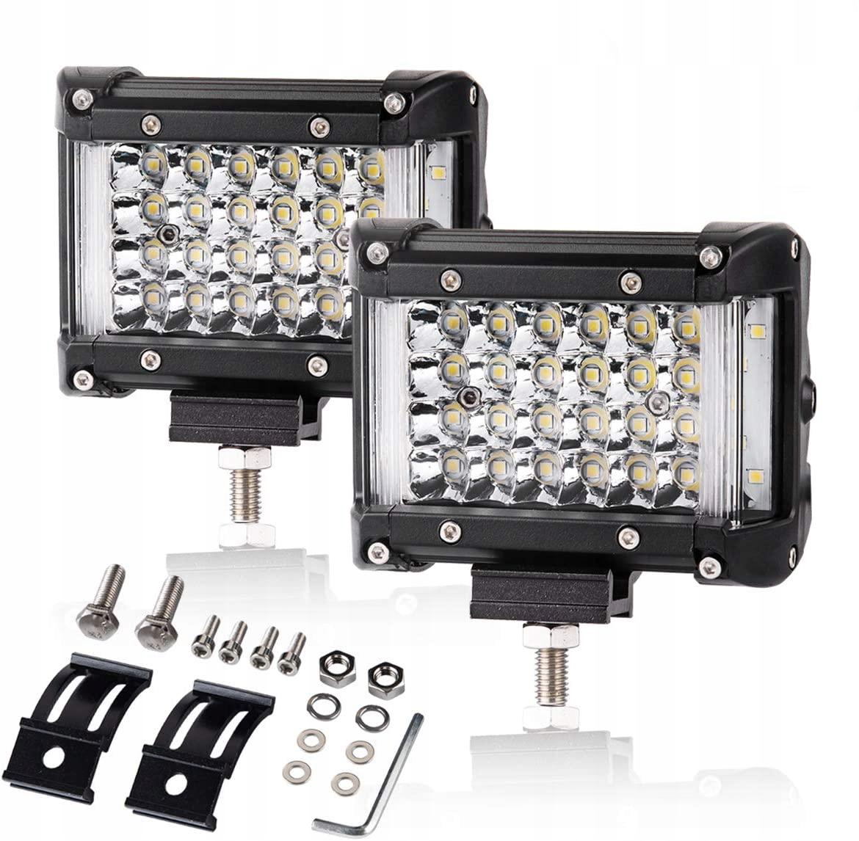 комплект 2 x галоген лампа рабочая led - 148w 12-24v