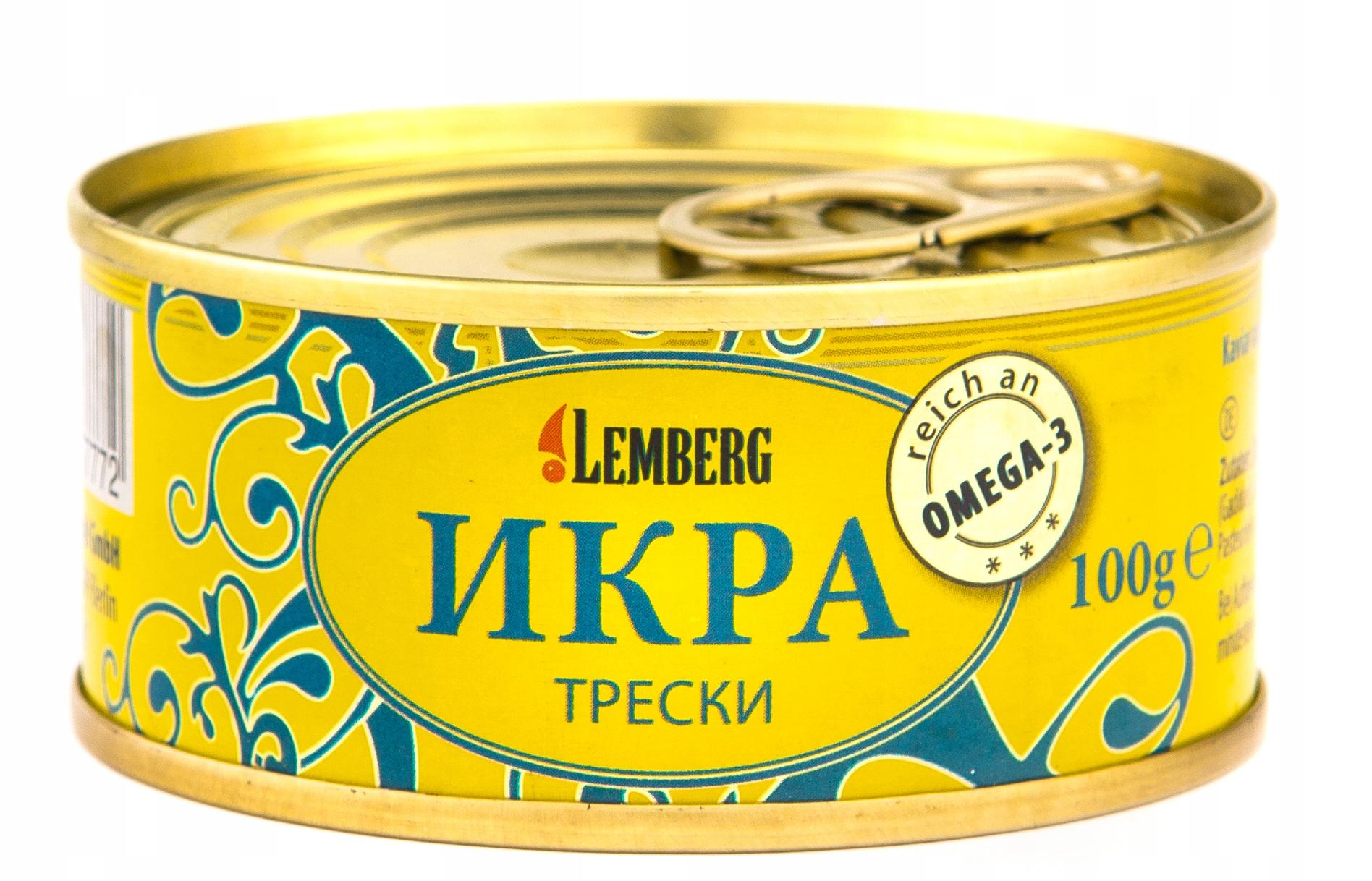 ИКРА () ХПК 100 гр., ЛЕМБЕРГ, ОРИГИНАЛ