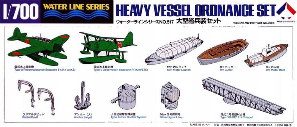 Купить Комплект артиллерийских орудий для тяжелых судов 1/700 Tamiya 31517 на Otpravka - цены и фото - доставка из Польши и стран Европы в Украину.