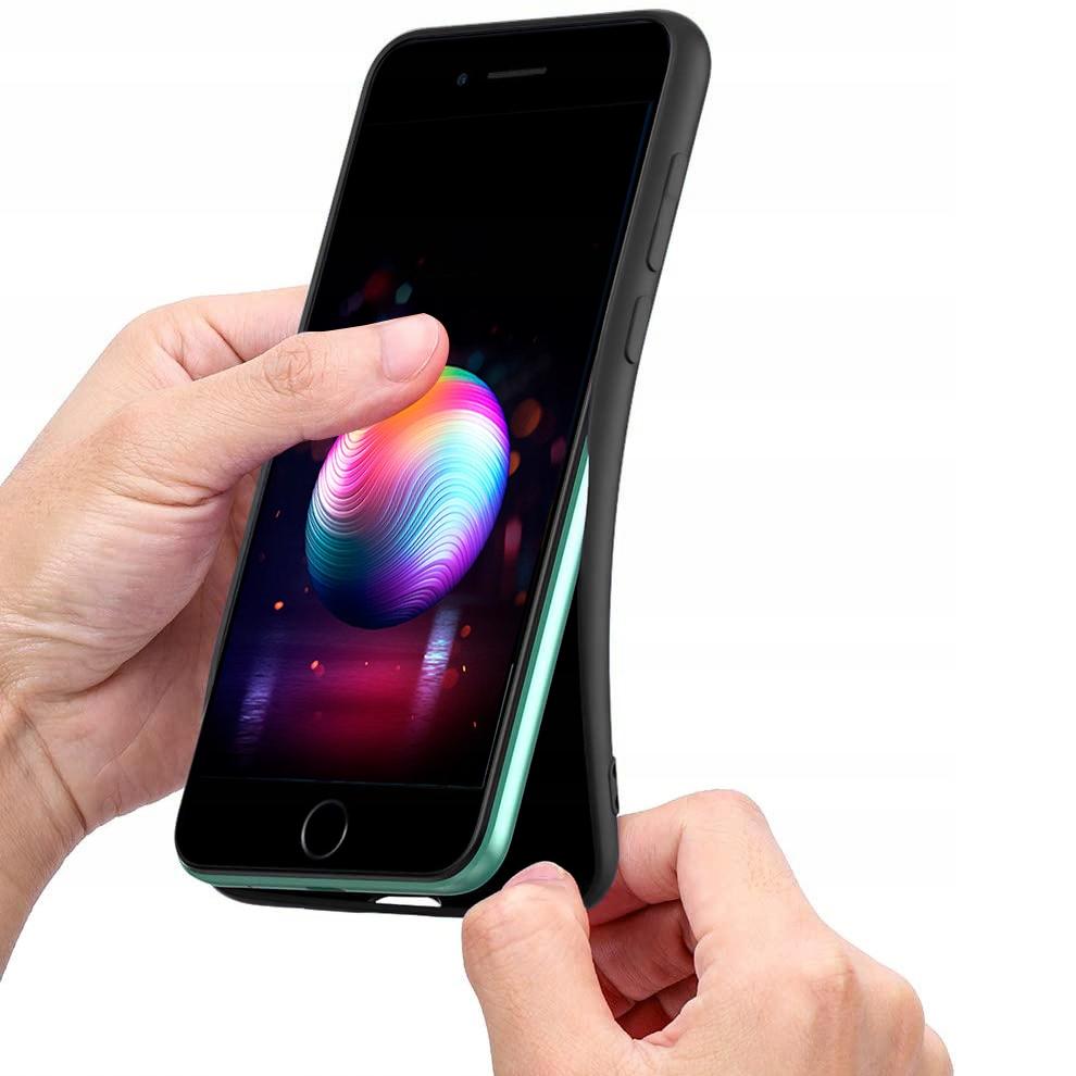 Etui do iPhone SE 2020 Case Silicone + Szkło 9H Kod producenta N37A
