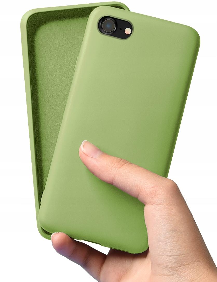 Etui Case Silicone + Szkło do iPhone 7 8 SE 2020 Dedykowany model iPhone 7 8 SE 2020