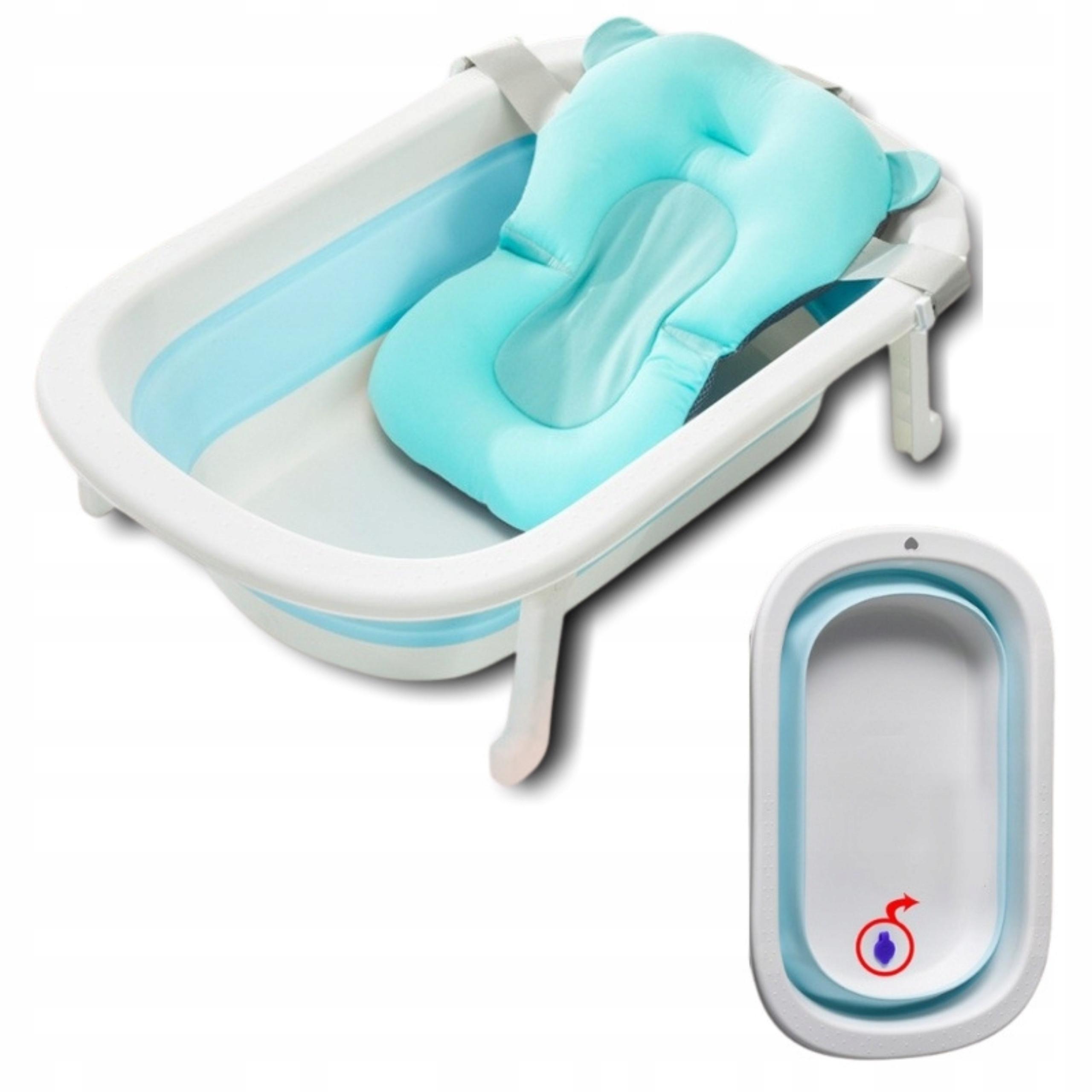Большая ванна для детей складной термометр + сидения
