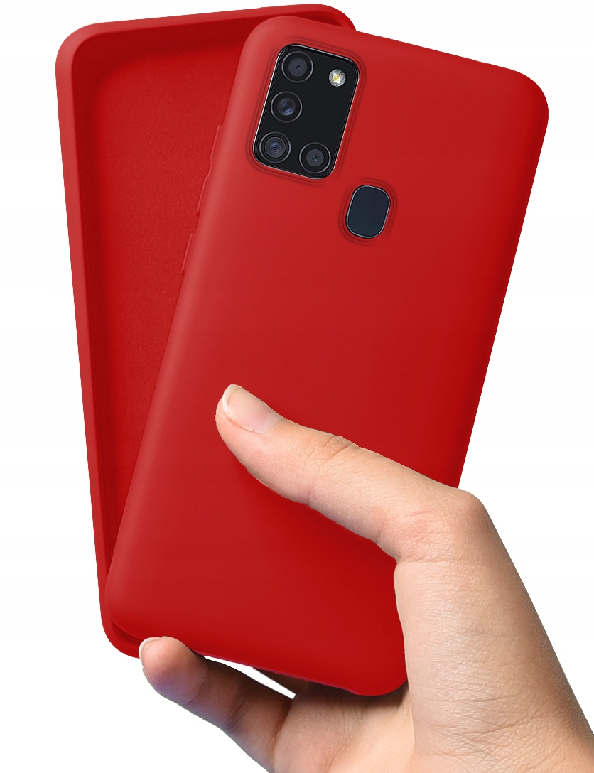 Etui do Samsung Galaxy A21S Case Silicone + Szkło Dedykowany model Galaxy A21s