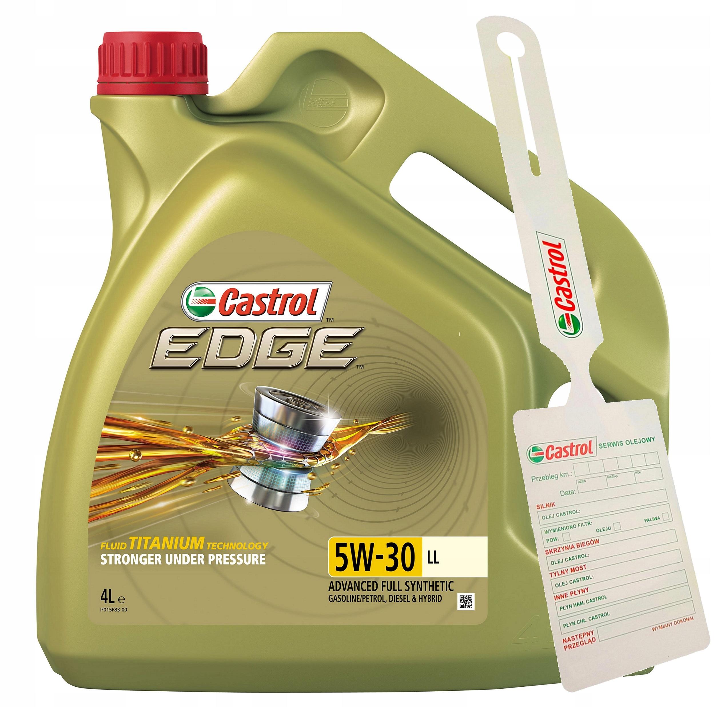 Castrol Edge TITANIUM 5W-30 LL PC 4L + кулон