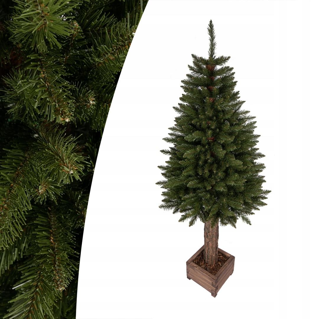 Umelý vianočný stromček Classic Smrek v krabici 160 cm