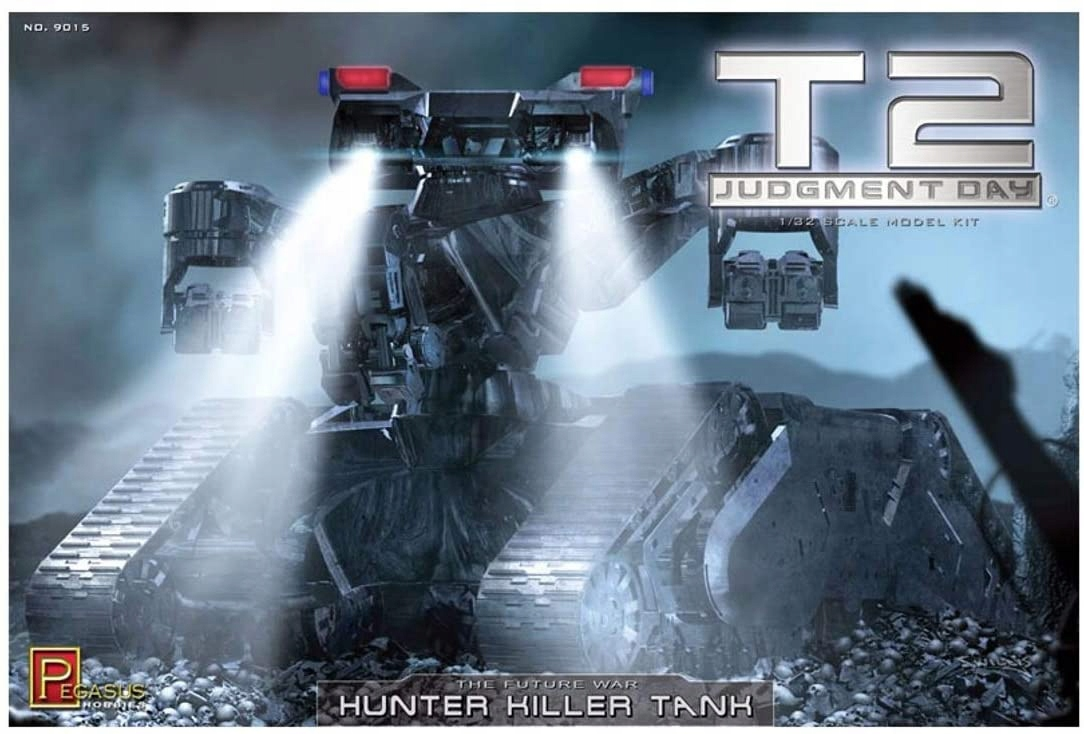 Hunter Killer Tank Terminator 2 Pegasus 9015 1/32