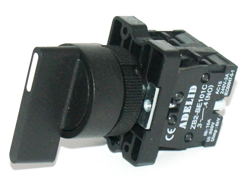Tlačidlo Zapnite perie 1-0-2 XB2-EJ33