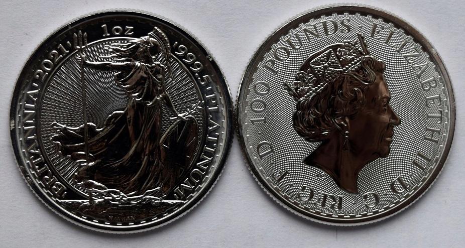 100 libier 2021 - Britannia unca - Platinum Bargain