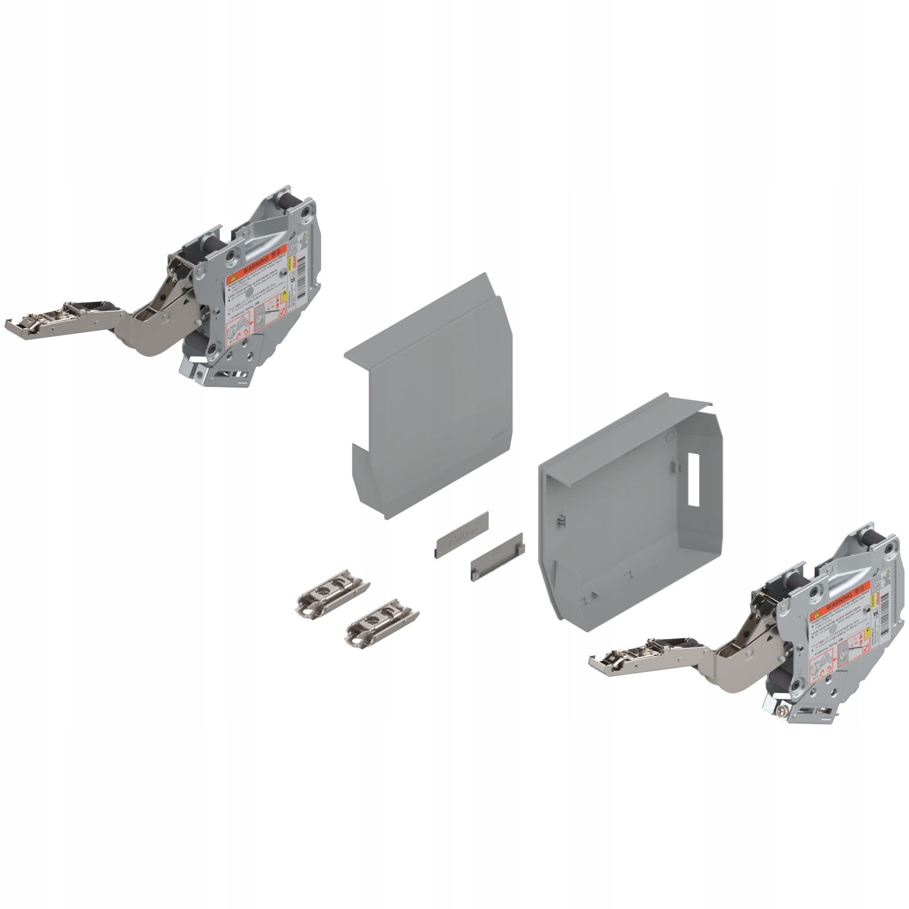 Aventos HK-S Blum TIP-ON 20K2E01T sivý zdvih