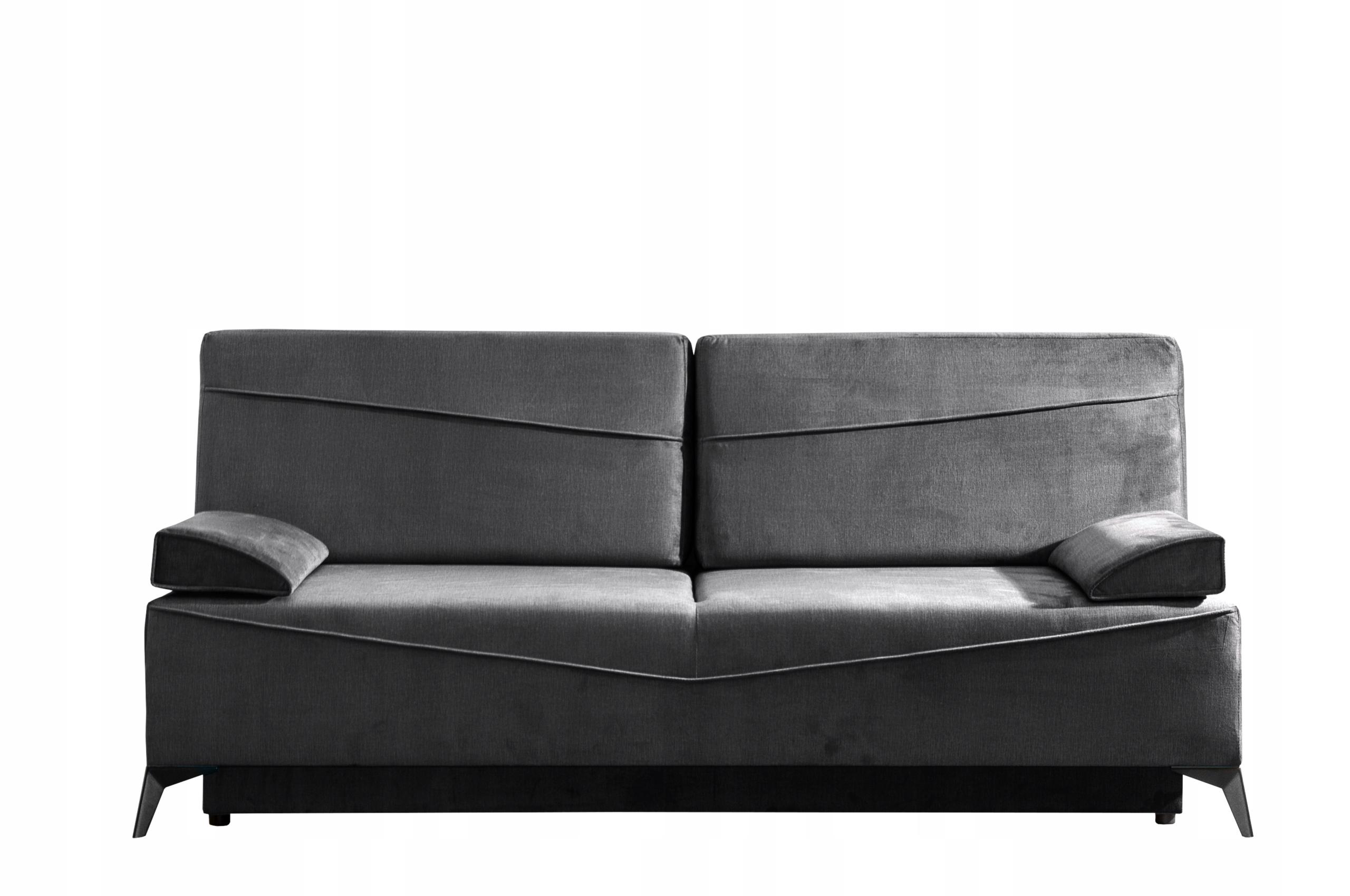 Sofa młodzieżowa ASTIN pojemnik do spania kolory Szerokość mebla 200 cm