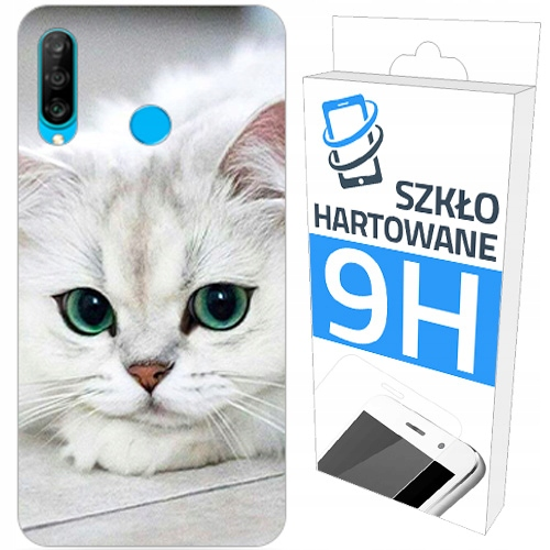200wz Etui+szkło do Huawei P30 Lite New Edition