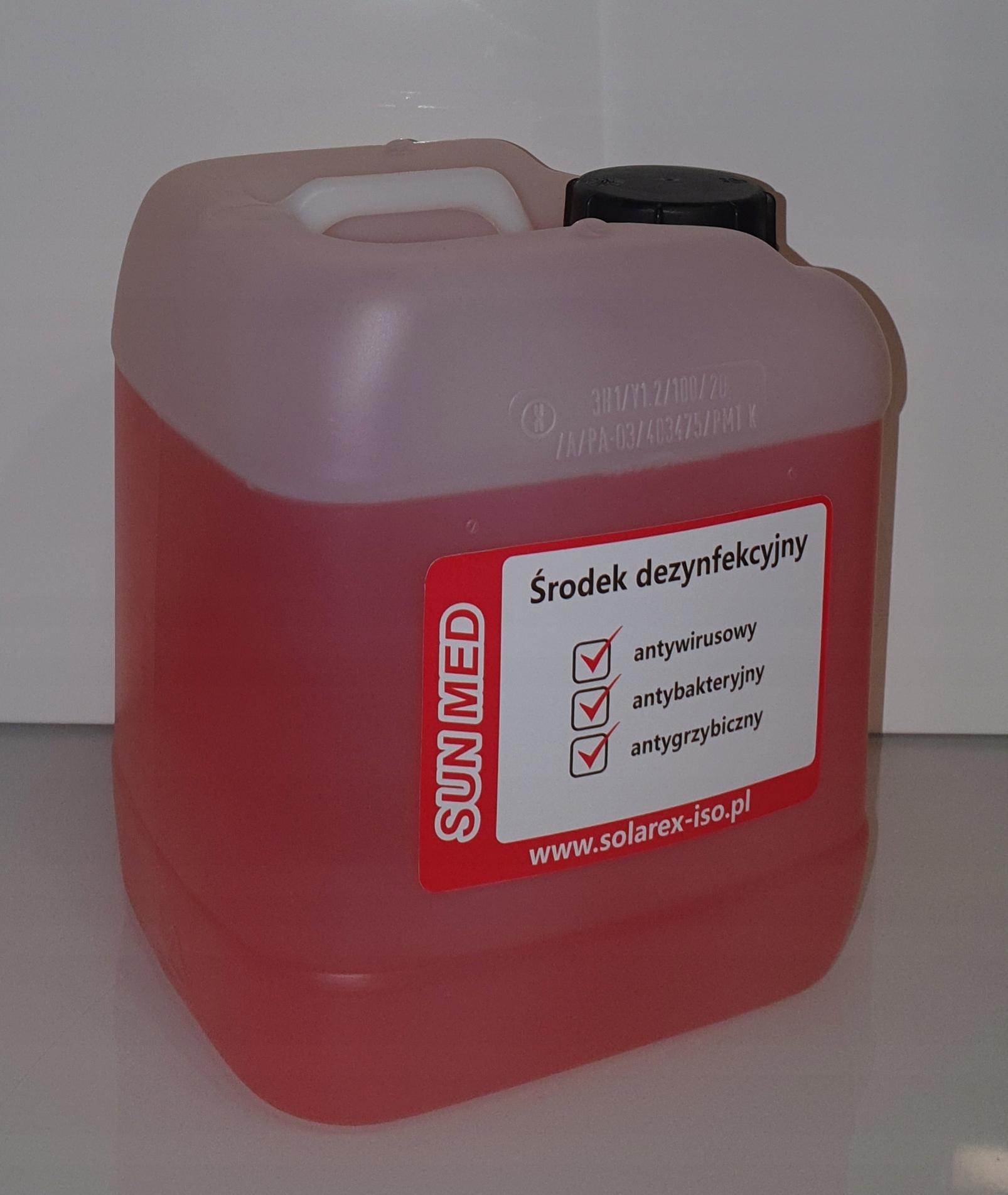 Дезинфицирующее средство для соляриев SUN MED 5L