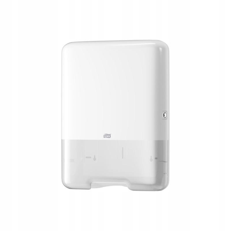 Tork 553000 - ZZ, zásobník na uteráky H3 - biely