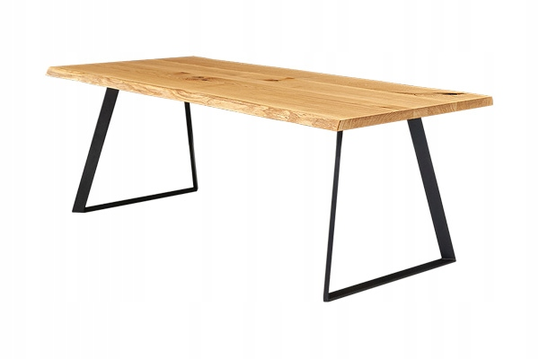Moderný dubový stôl DELTA 220x100 cm LOFT RETRO