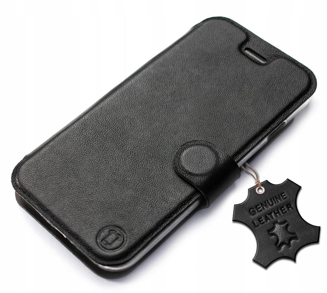 Etui ze skóry naturalnej Mobiwear do OnePlus 8 Pro
