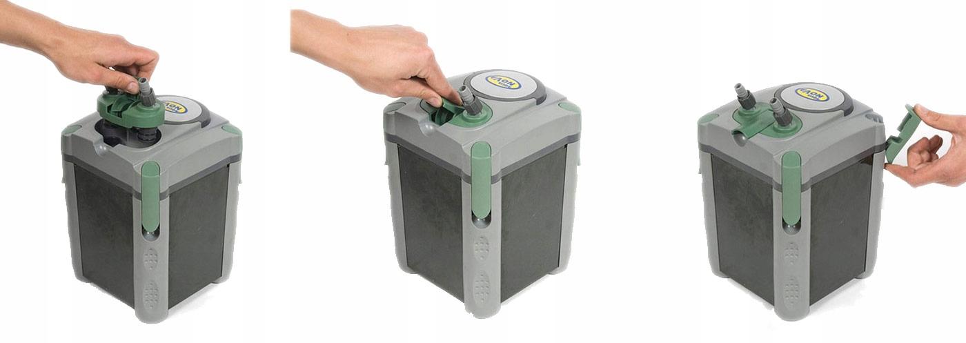 Фильтр NCF-800 до 200l + полные картриджи + бесплатные! Максимальная высота нагнетания воды 120 см