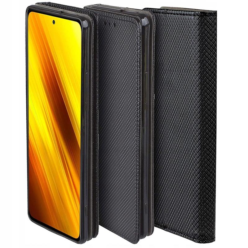 Etui do Xiaomi Poco X3 NFC Case Magnet + Szkło 9H Dedykowany model Xiaomi Poco X3 NFC