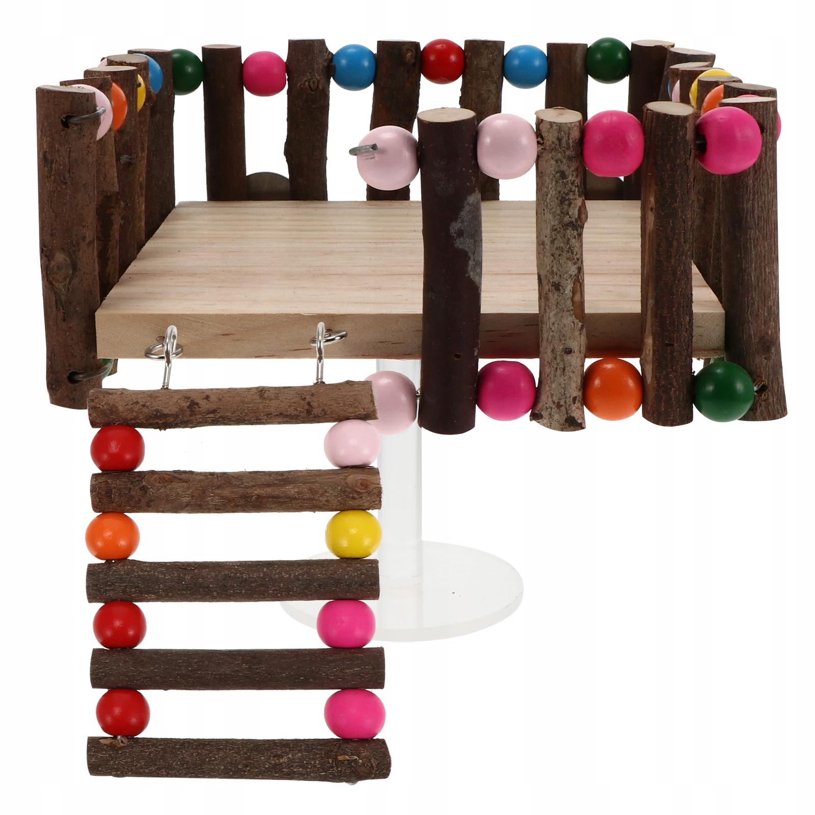 2 части игрушки клетки хомяка лестница платформы хомяка