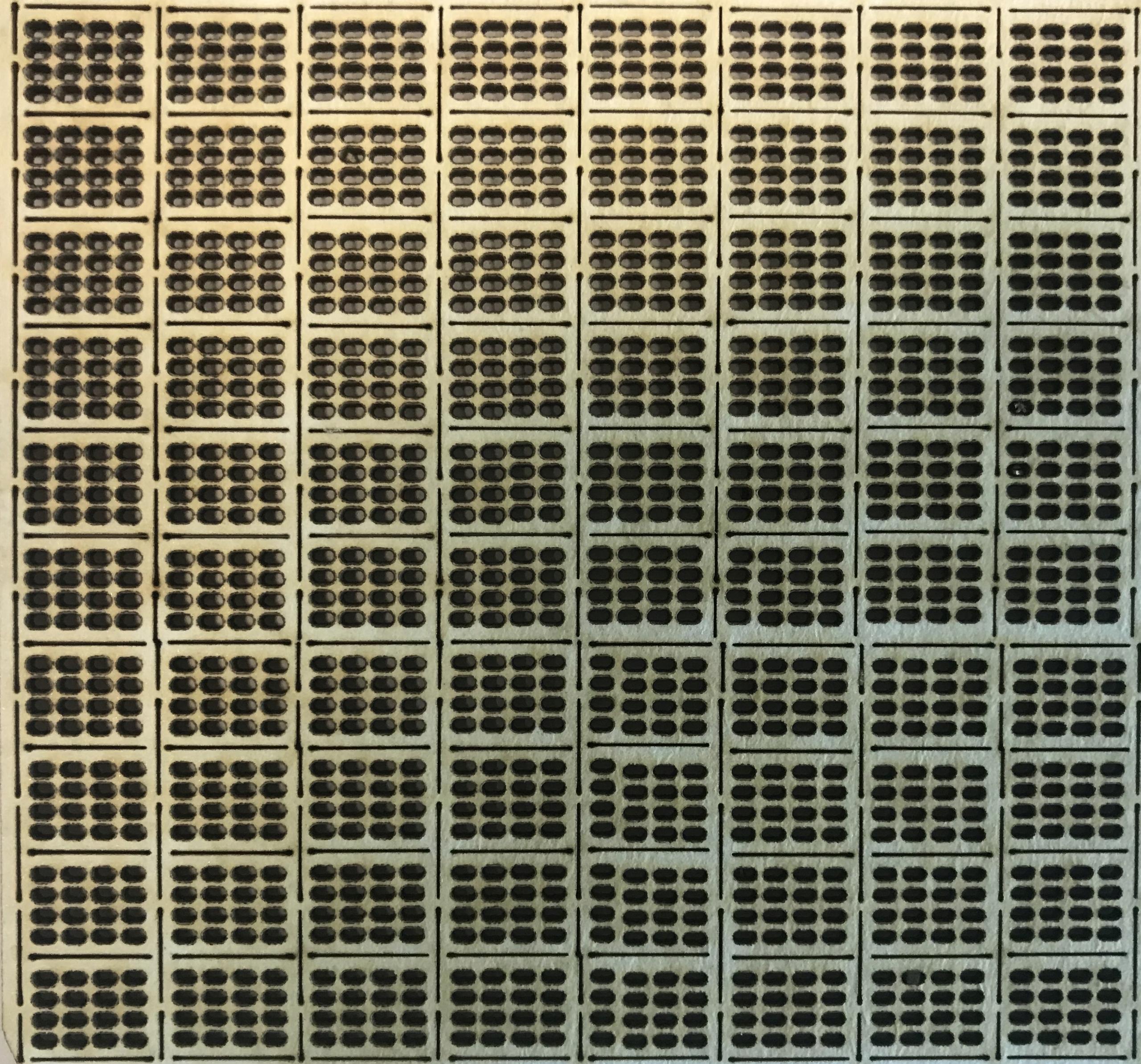 Бетонная плита JUMBO (JOMB), масштаб HO 80 шт.