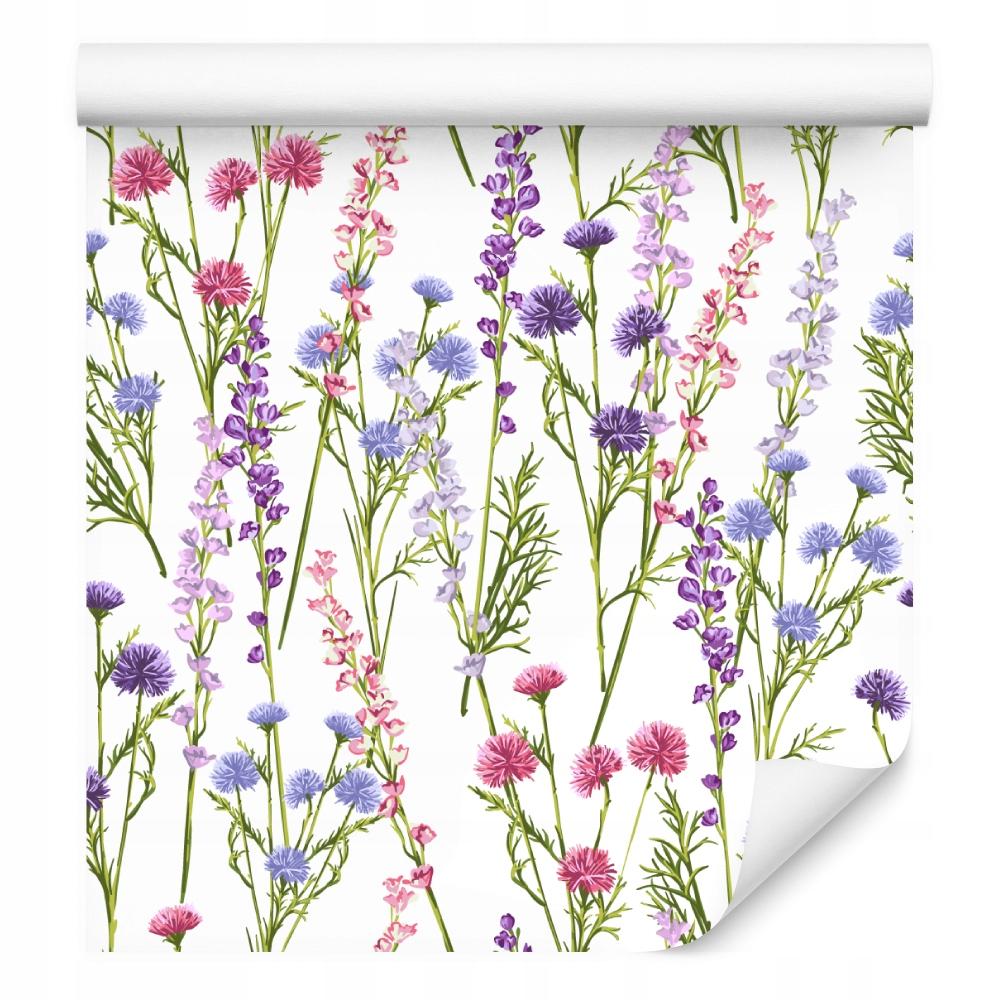 Divoké kvety jarné rastliny tapety pre vašu kuchyňu