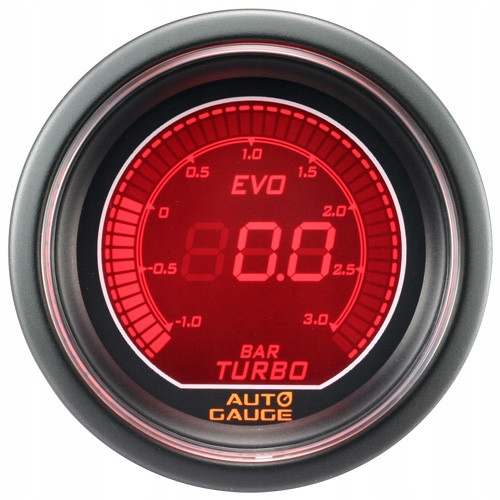 индикатор new авто gauge давление наддува evo