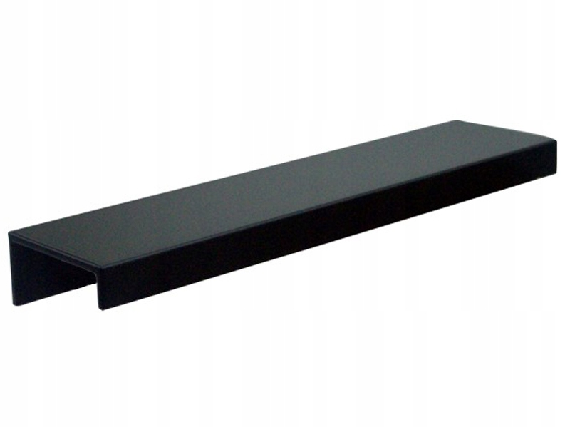 Ручка мебельная BLACK MAT LOFT край L-64