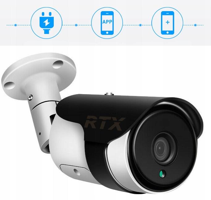Kamera RTX SmartCam Zewnętrzna Tuya Alexa Google Marka RTX