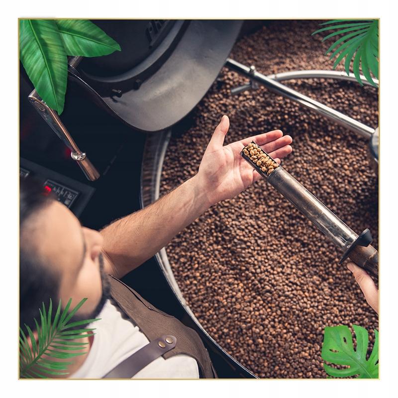 Kawa ZIARNISTA 2kg ŚWIEŻO PALONA Arabika 100% Kod producenta 5903714963065
