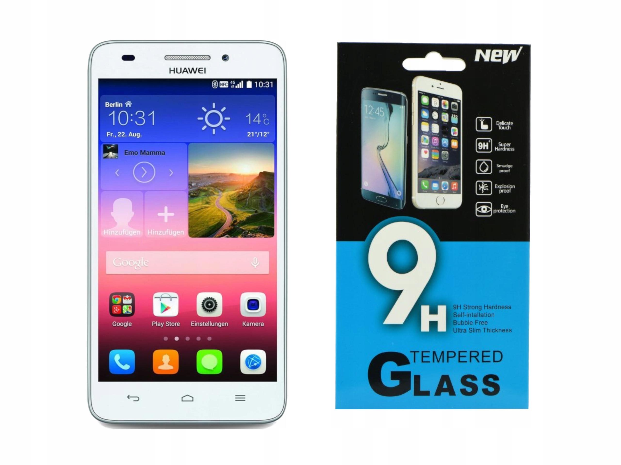 Szkło hartowane Huawei Ascend G620S  5 00''  9H