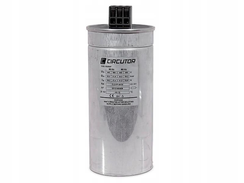 Kondenzátor CLZ-FP-FP-44/50-HD Reaktívny výkonový kondenzátor; 50 kVar